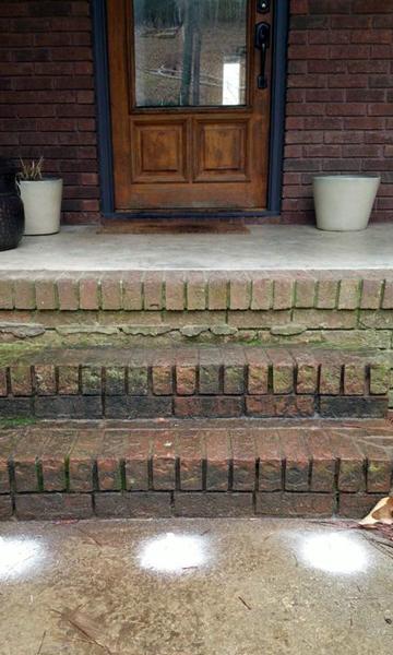 Sinking Concrete Patio Amp Stoop Repair Polylevel 174